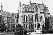 old photo of university of pennsylvania